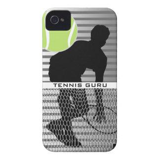 Caja de la casamata del iPhone 4 de Guru del tenis iPhone 4 Case-Mate Protectores