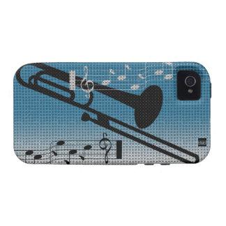 Caja de la casamata del iPhone 4 de la música del  iPhone 4/4S Carcasa