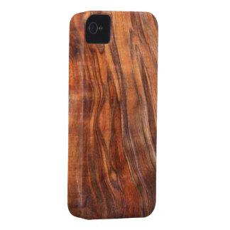 Caja de la casamata del iPhone 4 de la nuez (grano iPhone 4 Case-Mate Coberturas