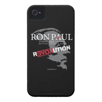 Caja de la casamata del iPhone 4 de Ron Paul Funda Para iPhone 4 De Case-Mate
