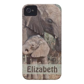 Caja de la casamata del iPhone 4 del elefante de l