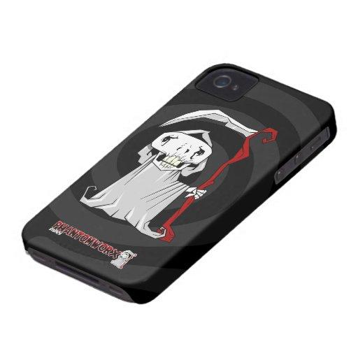Caja de la casamata del iPhone 4 del segador iPhone 4 Case-Mate Cárcasa
