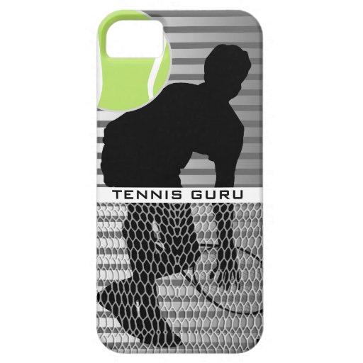 Caja de la casamata del iPhone 5 de Guru del tenis iPhone 5 Case-Mate Cobertura