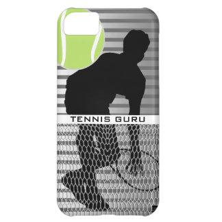 Caja de la casamata del iPhone 5 de Guru del tenis Funda Para iPhone 5C