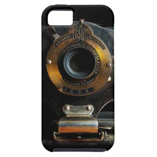 Caja de la casamata del iPhone 5 de la cámara del  iPhone 5 Coberturas