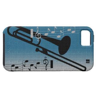 Caja de la casamata del iPhone 5 de la música del  iPhone 5 Carcasa