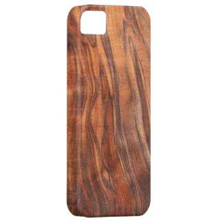 Caja de la casamata del iPhone 5 de la nuez (grano Funda Para iPhone 5 Barely There
