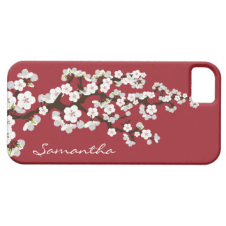 Caja de la casamata del iPhone 5 de las flores de Funda Para iPhone SE/5/5s