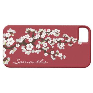 Caja de la casamata del iPhone 5 de las flores de iPhone 5 Carcasa