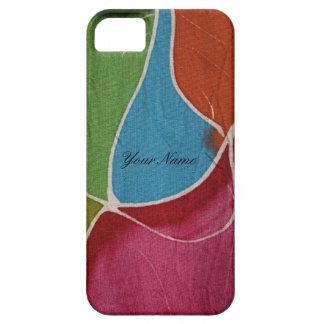 Caja de la casamata del iphone 5 del batik funda para iPhone SE/5/5s