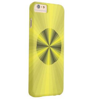 Caja de la casamata del iPhone del amarillo de la Funda Para iPhone 6 Plus Barely There