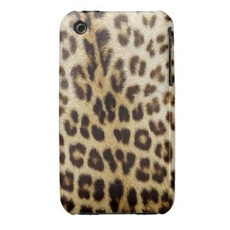 caja de la casamata del leopardo del iPhone 3/3GS iPhone 3 Case-Mate Funda