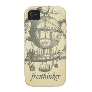 Caja de la casamata del librepensador Case-Mate iPhone 4 fundas