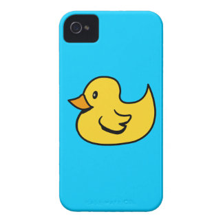 Caja de la casamata del pato iPhone 4 funda