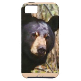 Caja de la casamata del retrato del lirio iPhone 5 Case-Mate fundas