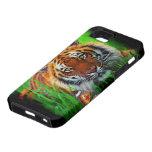 Caja de la casamata del tigre 1A iPhone 5 Case-Mate Cárcasas