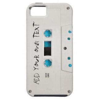 Caja de la cinta de casete del vintage iPhone5 iPhone 5 Fundas