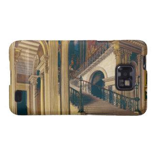 Caja de la escalera, casa de Buckingham, 'de la hi Galaxy S2 Fundas
