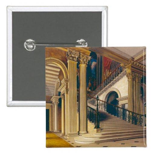 Caja de la escalera, casa de Buckingham, 'de la hi Pins