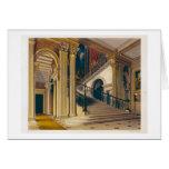 Caja de la escalera, casa de Buckingham, 'de la hi Tarjeta De Felicitación