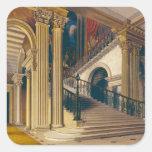 Caja de la escalera, casa de Buckingham, 'de la Pegatina Cuadrada