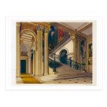 Caja de la escalera, casa de Buckingham, 'de la Tarjetas Postales