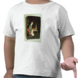 caja de la escritura del Chino-estilo Camiseta