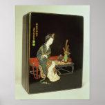 caja de la escritura del Chino-estilo Impresiones