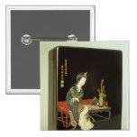 caja de la escritura del Chino-estilo Pin