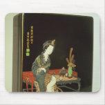 caja de la escritura del Chino-estilo Alfombrilla De Ratón