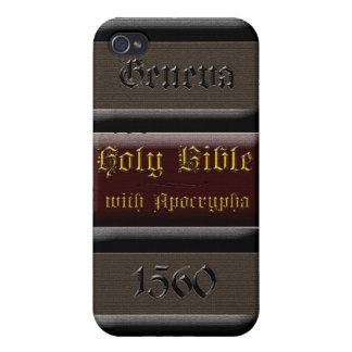 Caja de la espina dorsal iPhone4 de la biblia de G iPhone 4 Carcasas