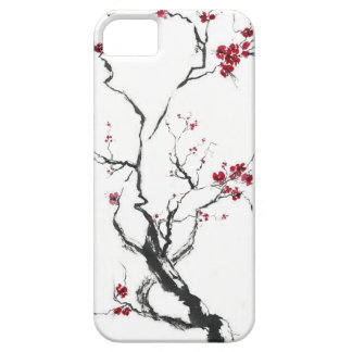 Caja de la flor de cerezo iPhone 5 Case-Mate cárcasa