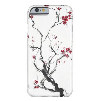 Caja de la flor de cerezo funda para iPhone 6 barely there