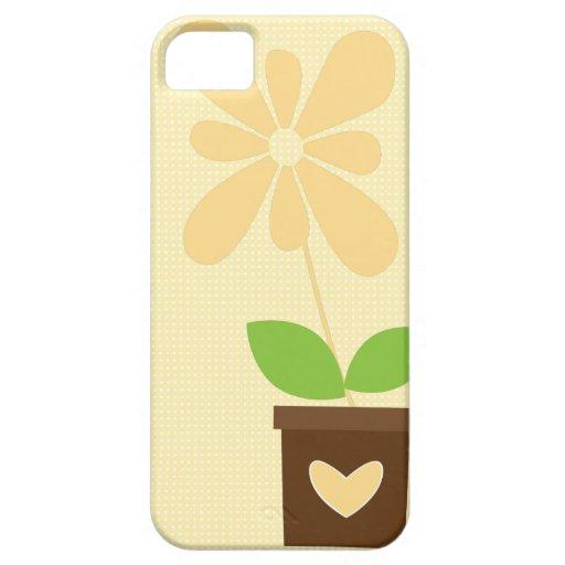 Caja de la flor de la primavera {iPhone} iPhone 5 Funda