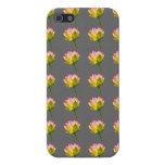 caja de la flor de loto iPhone 5 cárcasas