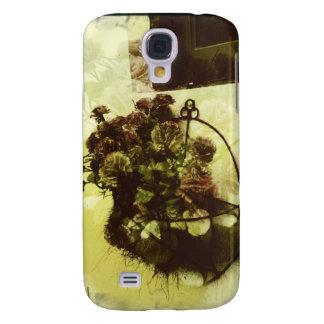 Caja de la flor iphone3/3GS del vintage Funda Para Galaxy S4