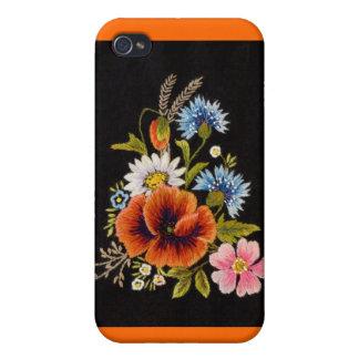 Caja de la flor iPhone4 iPhone 4/4S Carcasa