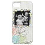 caja de la foto del doodle iphone5 iPhone 5 Case-Mate cobertura