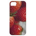 Caja de la fresa iPhone 5 Case-Mate coberturas