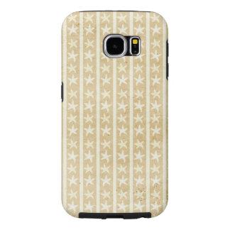Caja de la galaxia 6 de Samsung de los Seashells Fundas Samsung Galaxy S6