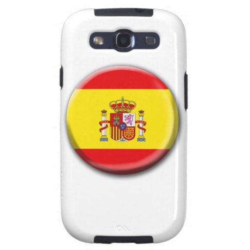 Caja de la galaxia de España Samsung Galaxy S3 Cárcasa