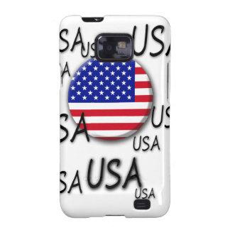 Caja de la galaxia de los E.E.U.U. Samsung Galaxy SII Carcasa