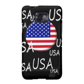 Caja de la galaxia de los E.E.U.U. Samsung Galaxy SII Funda