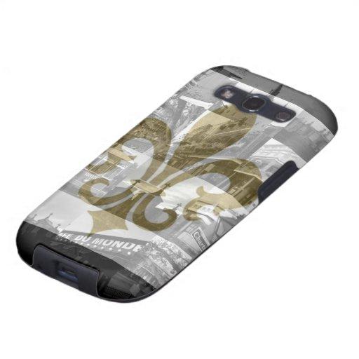 Caja de la galaxia de New Orleans Samsung Samsung Galaxy S3 Carcasa