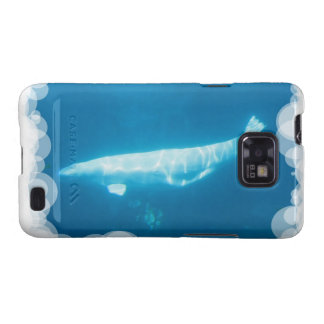 Caja de la galaxia de Samsung de la ballena de la Samsung Galaxy S2 Carcasa