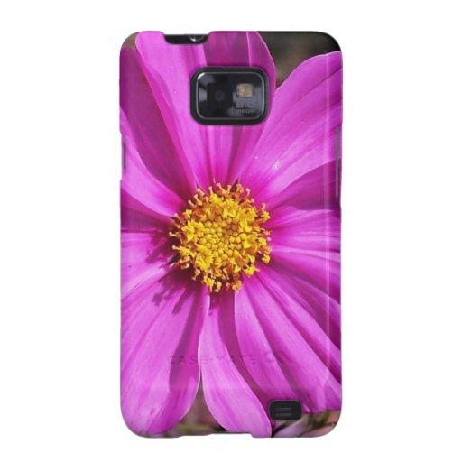 Caja de la galaxia de Samsung de la flor de la Samsung Galaxy SII Carcasa