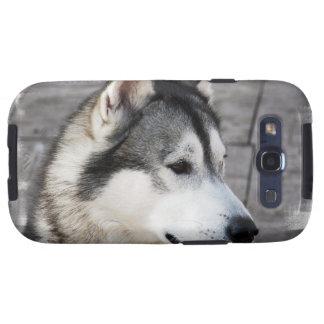Caja de la galaxia de Samsung de la foto del Samsung Galaxy S3 Protectores