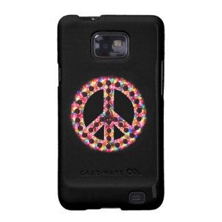 caja de la galaxia de Samsung de la paz 5-Color Galaxy S2 Funda