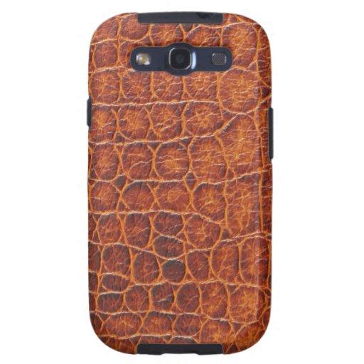 Caja de la galaxia de Samsung de la piel del cocod Galaxy SIII Coberturas