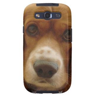 Caja de la galaxia de Samsung de la raza del perro Samsung Galaxy S3 Protector